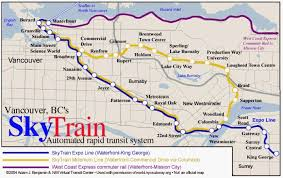 vancouver skytrain map nycsubway org vancouver skytrain route map