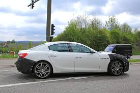 maserati models list 2018 maserati ghibli facelift spied up close is this the new 450