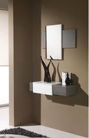 meubles entrée design meuble de complément meuble d entrée avec miroir meuble design