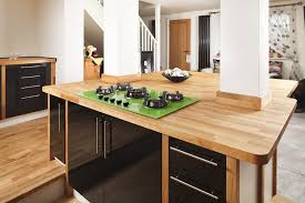 ideas for kitchen worktops oak worktop gallery