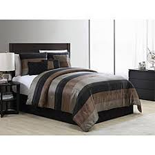 Tan And Black Comforter Sets Comforter Sets Bedding Sets Kmart
