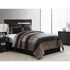 Black And Beige Comforter Sets Essential Home Comforters Kmart