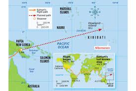 Amelia Island Map What Really Happened To Amelia Earhart