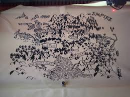 Leather Map Leather Map