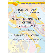Map Of The Middle East by Atlas Of Paleotectonic Maps Of The Middle East Mebe Program