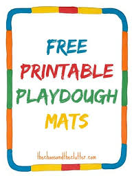 printable alphabet mat printable playdough mats