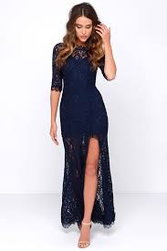 only one navy blue lace maxi dress lace maxi maxi dresses and