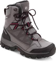 womens size 12 waterproof boots salomon chalten thinsulate climashield waterproof boots s