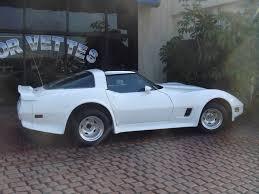 1981 white corvette 81 corvette with black interior automatic transmission