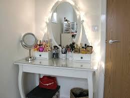 Simple Vanity Table Flip Top Makeup Vanity Style Guru Fashion Glitz Glamour