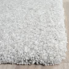 What Is A Shag Rug Silver And Ivory Shag Ultimate Collection Safavieh