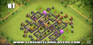 layout design th7 30 undefeated th7 war farming trophy hybrid 2017 layouts
