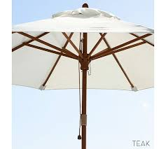 Market Patio Umbrella Square Market Umbrella Solid Pottery Barn