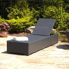 Wicker Chaise Lounge Chaise Lounges View In Gallery Black Resin Wicker Patio Lounge
