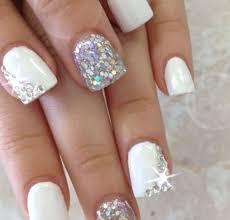 30 acrylic nail designs with rhinestones nails pix