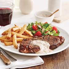 recettes de cuisines steak frites sauce dijonnaise recettes cuisine et nutrition