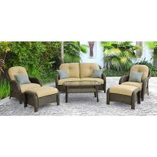 Hanover Patio Furniture Hanover Outdoor Furniture Soho 3 Piece Modern Lounge Set Walmart Com