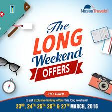 nassatravels weekend offers best packages deals
