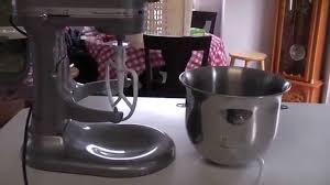 Purple Kitchenaid Mixer by Kitchenaid Ksm6573ccu 6 Qt Professional 6000 Hd Bowl Lift S Review