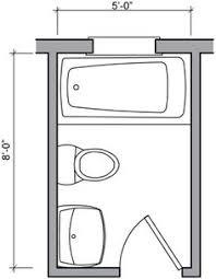 small bathroom floor plans 5 x 8 5ft x 8ft standard small bathroom floor plan with shower 5x8