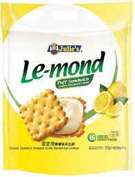 julie cuisine le monde le mond puff lemon flavoured sandwich julie s