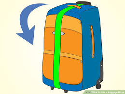 Wisconsin traveling suitcase images How to use a luggage strap 7 steps with pictures wikihow jpg
