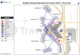 Chicago Ohare Terminal Map by Seattle Airport Map Chicago Map