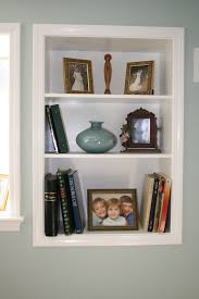 Build Your Own Bookcase Wall Decorating Breathtaking White Wood Staining Floating Shelf