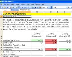 Spreadsheet Comparison Tool Construction Checklist Comparison Chart Ask The Builderask The