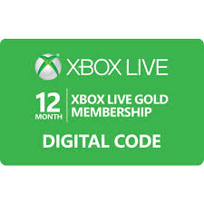 xbox 360 gift card instant code 12 month xbox live gold for xbox one and xbox 360