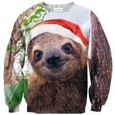 Sloth Meme Shirt - christmas sloth face sweater shelfies