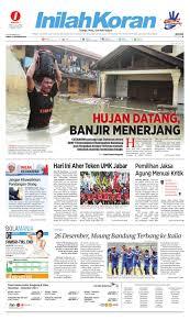 hujan datang banjir menerjang by inilah media jabar issuu