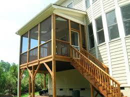 deck building u0026 screen porch photos before after gallery cary