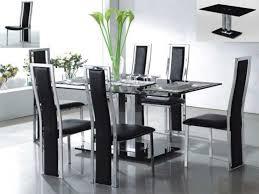 Modern Dining Room Table Set Modern Glass Dining Room Tables Awesome Modern Glass Dining Table