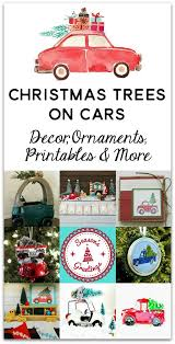 113 best trees on cars images on pinterest christmas time