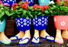 Challenge Flower Pot Cee S Oddball Photo Challenge Week 26 2015 Flip Flop Flower Pot