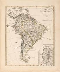 1820 Map Of United States by 1820 Map Of South America