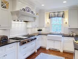 Coastal Cottage Kitchen Design - small white cottage kitchen design home design ideas