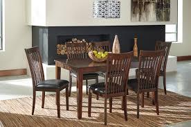 signature design by ashley mallenton medium brown 7 piece dining