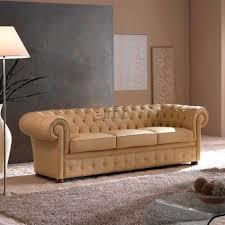 canap cuir capitonn chesterfield contemporain design classique cuir capitonné adam
