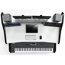 Studio Production Desk by 88 Keyboard Studio Desk Hostgarcia