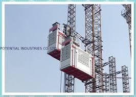 ascensore a cremagliera doppio ascensore pesante della cremagliera della gabbia elevatori