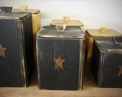 rustic kitchen canister sets 22 best primitive canister set images on canister sets