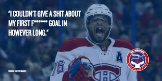 Montreal Canadians Memes - p k subban is not happy right now eyes on the prize