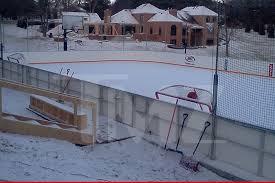 Best Backyard Hockey Rinks Nhl Legend Bill Guerin Drops 500k On Backyard Hockey Rink