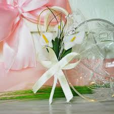 Boutonniere Prices Handmade Wedding Boutonniere With 3 White Flowers Kalla B005
