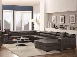 u shaped leather sofa living room large u shaped sectional sofa small leather sectional