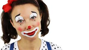 beginners clown face painting tutorial snazaroo youtube