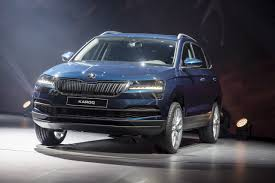 skoda karoq blue color hd wallpaper images latest cars 2018 2019