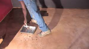 Basement Floor Stain by How To Acid Stain Basement Floor Concrete And Cement Work